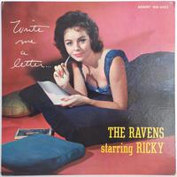 激レア R&B RVG 刻印 US盤 完全 オリジナル THE RAVENS Featuring RICKY