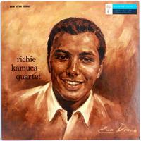 極上 美品 Mode 赤文字 完全 オリジナル 深溝 DG 光沢 ラミネート US盤 RICHIE KAMUCA Quartet リッチー・カミューカ Carl Perkins