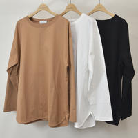 three tuck long sleeve T-shirt