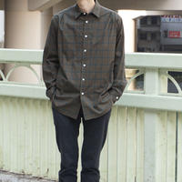 five tuck shirts-GREEN