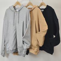 roof pocket zip hoodie