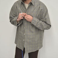 five tuck shirts-BEIGE