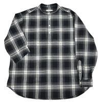 roof pocket band collar pullover shirts