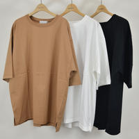 three tuck T-shirt