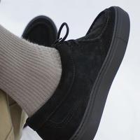 PICCANTE Tyrolean Shoes -SUEDE BLACK