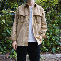 relax mackinaw shirts jacket - CORDUROY BEIGE