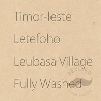 Timor-Leste Letefoho Leubasa Village Fully Washed - 200g