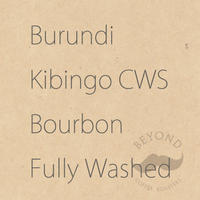 Burundi Kayanza Kibingo CWS Bourbon Fully Washed - 200g