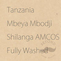 Tanzania Mbeya Mbodji Shilanga AMCOS Fully Washed - 200g