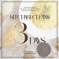 【RENEWAL】KITCHARI CLEANSE  3DAYS