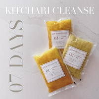 KITCHARI CLEANSE  7DAYS