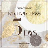 【RENEWAL】KITCHARI CLEANSE  5DAYS