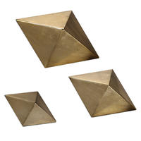 0420-17S Rhombus Sculpture  S