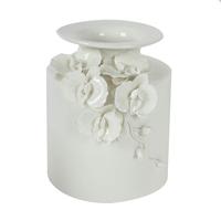 1117-121 Floral Pot Vase