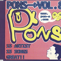 V.A// PONs vol.8 (Pink The Shell 「笑う人々」収録) コンピレーションCD