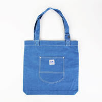 LEE BOOK TOTE CHAMBRAY BLUE