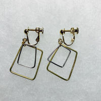sikaku earring double [VE-015]