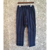 NORAGI PANTS「山袴」/紺縞