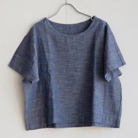 YAMMA   会津木綿袖付きシャツ
