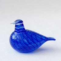 iittala bird/blue ルリコマドリ