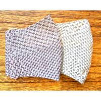 紋刺し子織マスク(L)