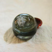 パイレックスガラスアート隕石ジュエリー
