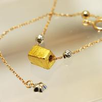 ギベオン隕石18金トリプルゴールド