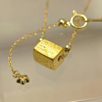 ギベオン隕石18金ネックレス