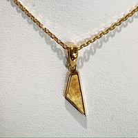 ギベオン隕石18Kネックレス