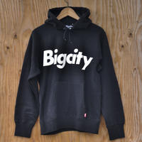 BIG LOGO 12オンス HOOD SWEAT  BLACK