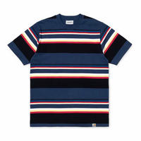 Carhartt Wip / S/S Sunder T-shirt - SunderStripeBlue/Blue