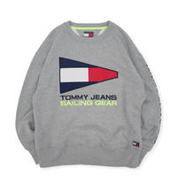 Tommy Hilfiger / TJM 90s Sailing Logo Sweat - Gray