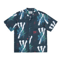 Carhartt Wip / S/S Tom Król Flowers Shirt - Tom Król Flowers Print, Midnight