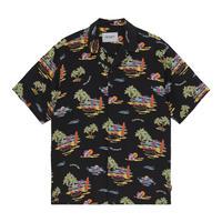 Carhartt Wip / S/S Beach Shirt - Beach Print Black