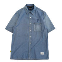 Blaq Flavor / S/S OG Denim Shirt - L.Blue