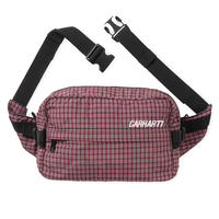 Carhartt Wip / Alistair Hip Bag - A CheckBk/EtnaRed