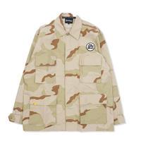 Blaq Flavor / L/S B.D.U. Shirt - Camo