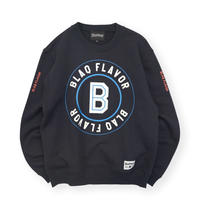 Blaq Flavor / Baseball Logo Sweat - Navy