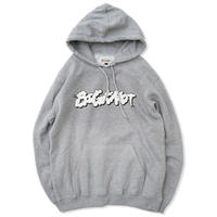 Big Knot / Hooded Smokin Logo Sweat -  Gray