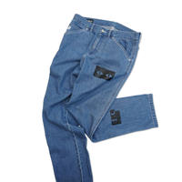 Blaq Flavor / Watch Over Denim Pant - Blue