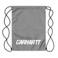Carhartt Wip / Alistair Drawnstring Bag - A CheckShiver/Black