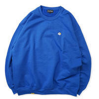 Blaq Flavor / Chest Logo Sweat - Blue