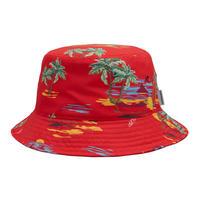 Carhartt Wip / Beach Bucket Hat - Beach PrintEtna Red