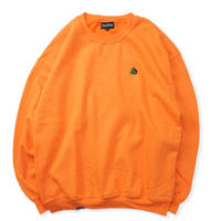 Blaq Flavor / Chest Logo Sweat - Orange