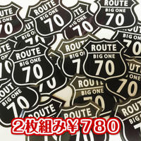 ROUTE70ステッカー(2枚組)