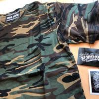 カモフラ柄半袖Tシャツ セット