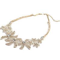Raama / bijou flower necklace