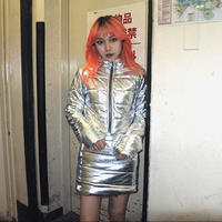 BO24 metalic down jacket