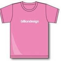 billiondesign T-shirt(ピンク)