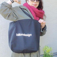 billiondesign トートBAG (ブラック)